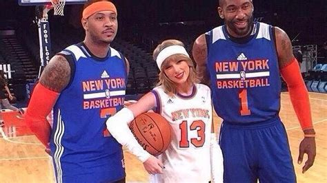 Taylor Swift Poses With Happy Amare Stoudemire Confused