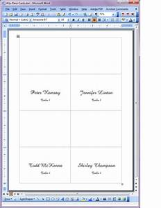 printable place cards printable table place cards With place card printing template