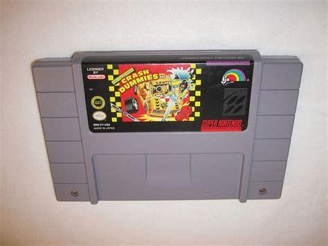 The Incredible Crash Dummies Super Nintendo Snes Game