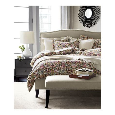 crate and barrel colette bed ing in the right direction to with