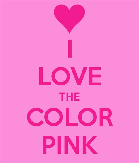 Love Pink Color Quotes