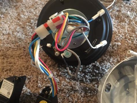 harbor breeze ceiling fan  wiring  transmitter