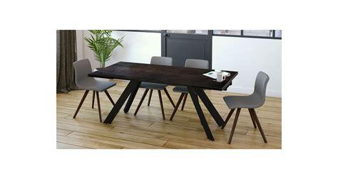 table repas extensible table de repas extensible au design contemporain cinabre
