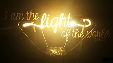 the light of the world a light in the darkness broken door ministries