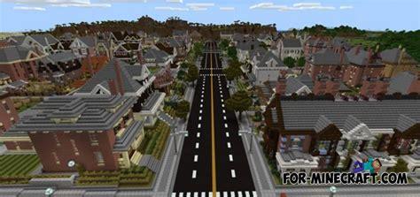 neighborhood map mcpe