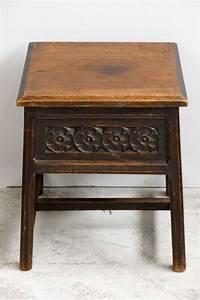 Petite Table D Appoint : petite table d 39 appoint carr e antique en ch ne en vente ~ Farleysfitness.com Idées de Décoration