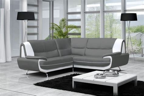 canapé home cinéma canapé d 39 angle en cuir gris pas cher