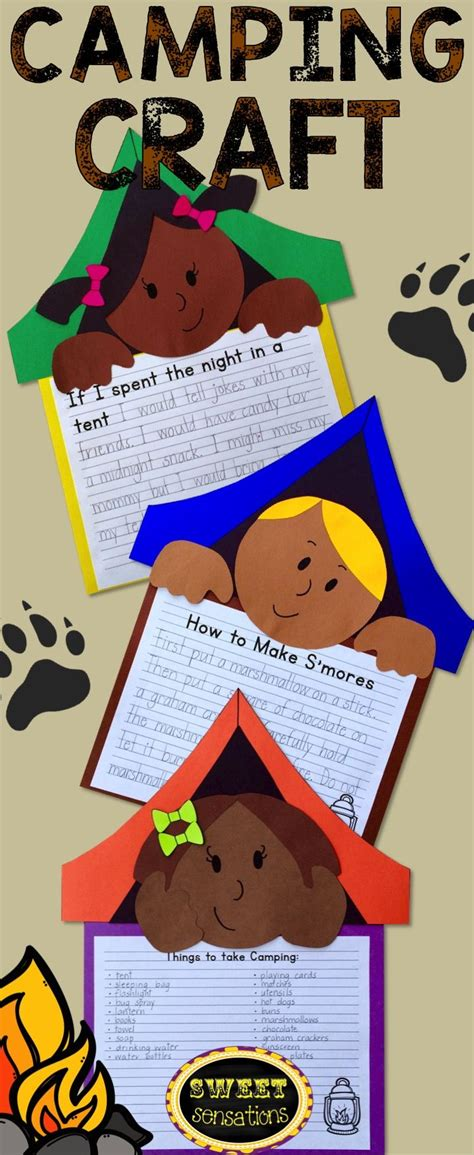 best 25 camping theme crafts ideas on 254 | cf9c59ea366df546f1a05c4fdc53e263 preschool summer camp theme camp theme craft