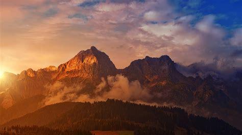 berg sonnenuntergang panorama kostenloses foto auf pixabay