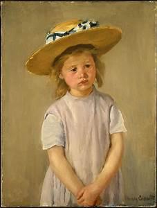 Chapeau De Paille Enfant : biographie et uvre de mary cassatt 1843 1826 ~ Melissatoandfro.com Idées de Décoration