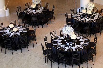 black white table centerpieces cheap wedding reception centerpiece ideas