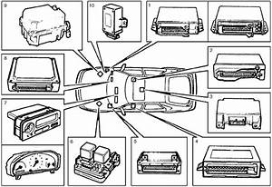 Saab 900  1994 - 1998  - Fuse Box Diagram