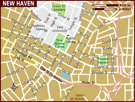 Seek coffee is located in a historic industrial hat factory. Map of New Haven