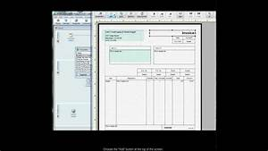 adding custom fields to quickbooks invoice templates youtube With custom made invoices