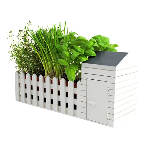 indoor allotment herb garden gift set new boxed
