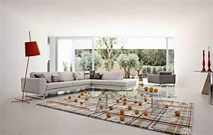 canapes sofas et divans modernes roche bobois With tapis bébé avec canapé en cuir contemporain roche bobois