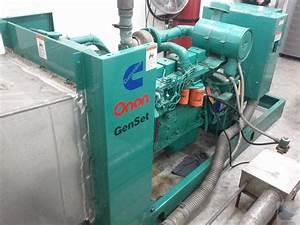 1995 Cummins Onan 80dgda Genset Generator 80kw Diesel  U0026 Transfer Switch