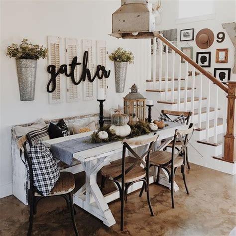 I especially love the unique farmhouse decor idea above {via crown point cabinetry }. 10 Beautiful Rustic Farmhouse Decor Ideas
