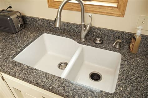 cambria counter top and granite composite mount sink