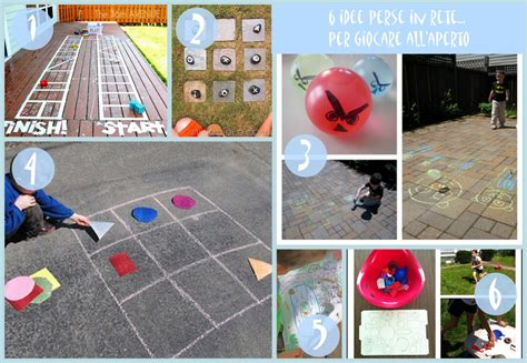 giochi da cortile per bambini 6 idee prese in rete per giocare all aperto