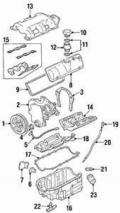 Oldsmobile Silhouette Engine Intake Manifold Gasket Set