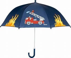 Regenschirm Mit Licht : playshoes jungen regenschirm feuerwehr regenmantel blau ~ Kayakingforconservation.com Haus und Dekorationen