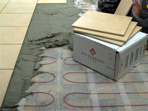 Fußbodenheizung Elektro, 160wattm², Vollwertige