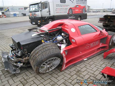 This Is The First Crash Ever Of A Gumpert Apollo. This