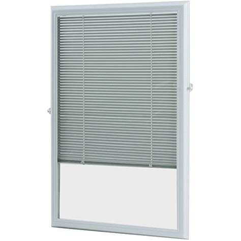odl 22x36 inch white enclosed door blind by odl inc