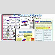 English Teaching Worksheets Russia