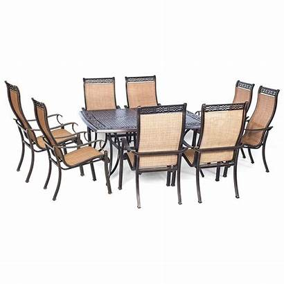 Dining Piece Patio Square Outdoor Table Hanover
