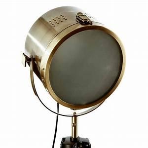Lampadaire Bois Metal : lampadaire m tal bois bor 150cm or ~ Teatrodelosmanantiales.com Idées de Décoration