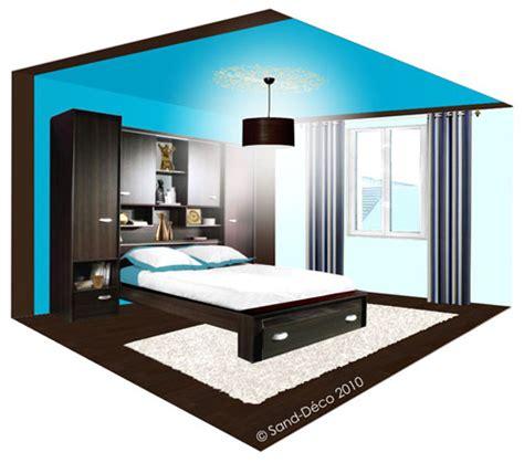 chambre chocolat turquoise déco chambre turquoise et chocolat