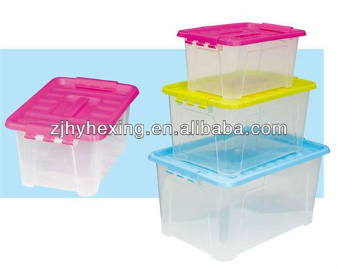 closet storage box plastic container pp box transparent