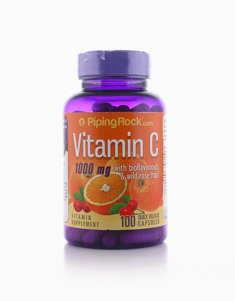 Vitamin C With Bioflavonoids by Piping Rock | BeautyMnl