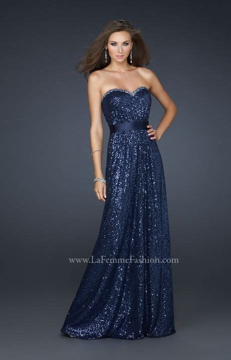 la femme  sequin dreams prom dress