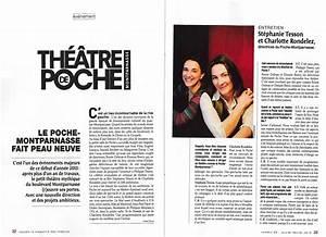Theatre Poche Montparnasse : revue de presse th tre de poche montparnasse ~ Nature-et-papiers.com Idées de Décoration