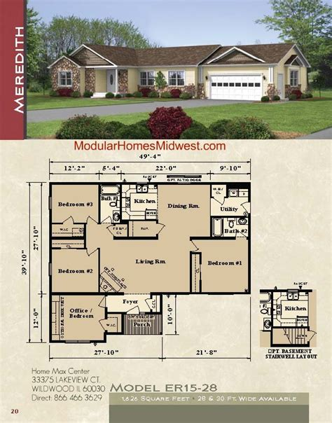 home plans with prices modular homes ranch floor plans rochester modular homes