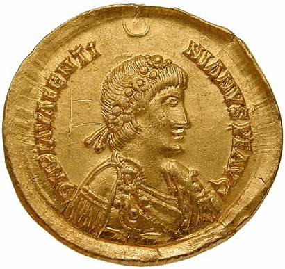 Valentinian Visigoth Coins Solidus Iii Empire Imitative
