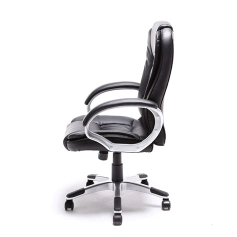 modern leather desk chair black brown white pu leather modern executive computer