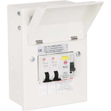 wylex consumer units mcb rcbo fuse boxes more toolstation