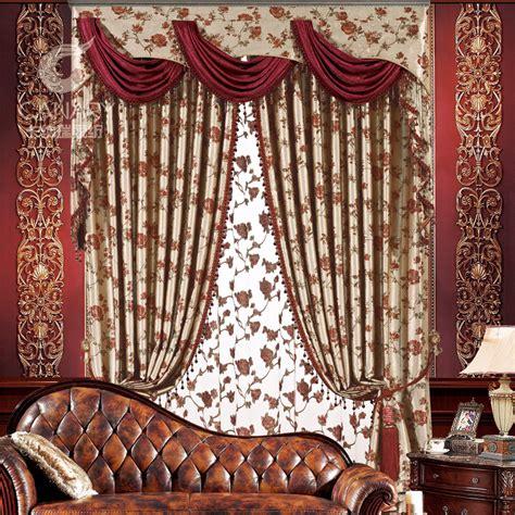 curtain design for home interiors luxury fashion europe gauze curtains blackout home decor