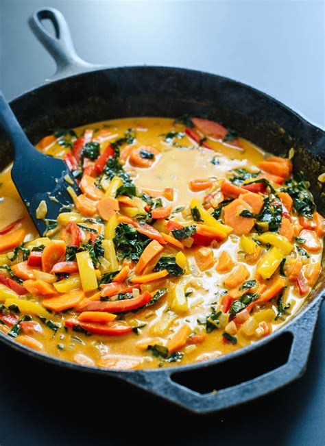 thai red curry recipe  vegetables cookie  kate