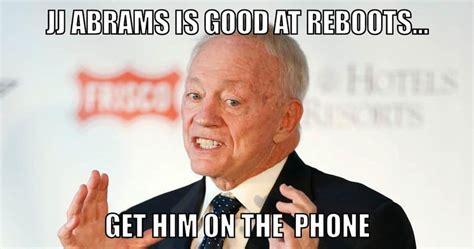 Jerry Jones Memes Dallas Cowboys Meme Maker Week 2 Vs The Washington Redskins