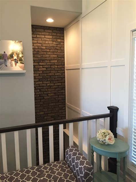 accent walls brick wallpaper   adhesives