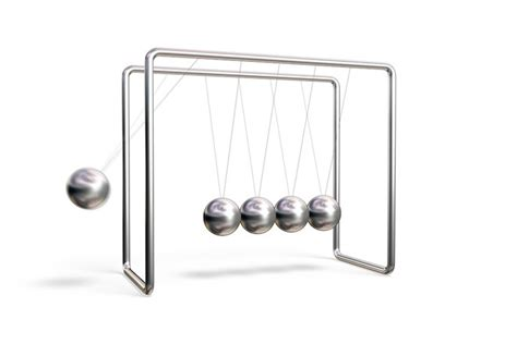 swinging balls on desk how does newton 39 s cradle work executive ball clicker