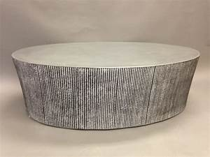 Tables bases stools creative concrete furniture for Concrete drum coffee table