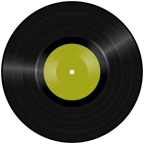 Vinyl Record PNG Clipart | Gallery Yopriceville - High ...