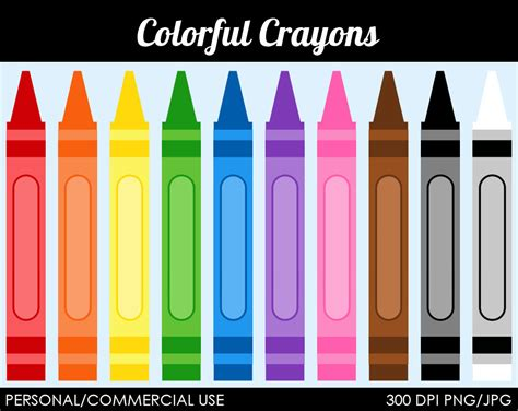 color crayon different colored crayons clipart clipground