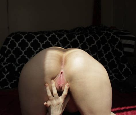 Bent Over To Spread My Ass And Spreading My Pussy Too F